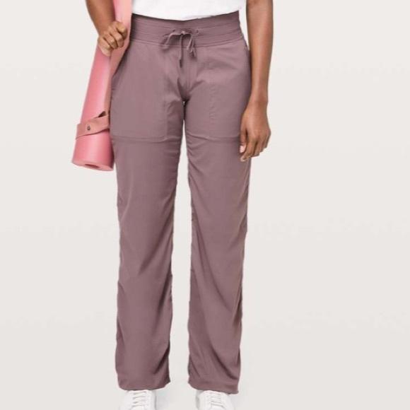 Size 4 Lululemon Dance Studio Pant *Unlined*